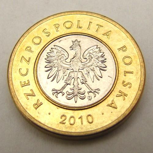 Moneta 2 złote 2010